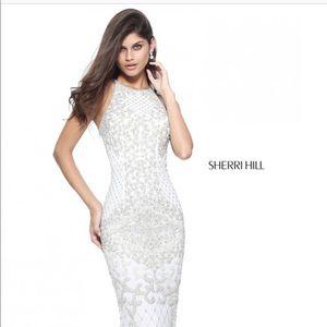 Sherri hill white dress